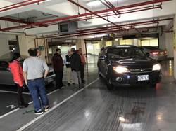 基市殯停車場行人道標示不清 影響人車安全