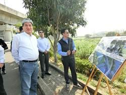 李鴻源拜訪盧秀燕:改善水域環境讓市民擁抱筏子溪