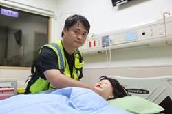 弘光學生任救護志工 馬拉松會場救人