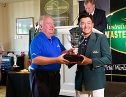 澳洲業餘高球名人賽 俞俊安披綠夾克摘雙冠
