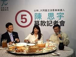 陳思宇募款網站今晚9點上線 趁機推銷千歲宴