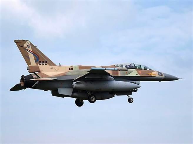 以色列F-16I戰機的資料照。(以色列空軍)