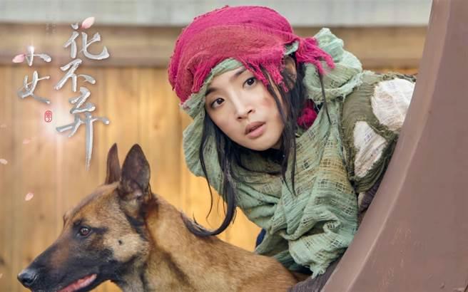 林依晨在新劇《小女花不棄》中飾演身分成謎,卻有著經商頭腦的小乞丐「花不棄」。(圖/周子娛樂提供)