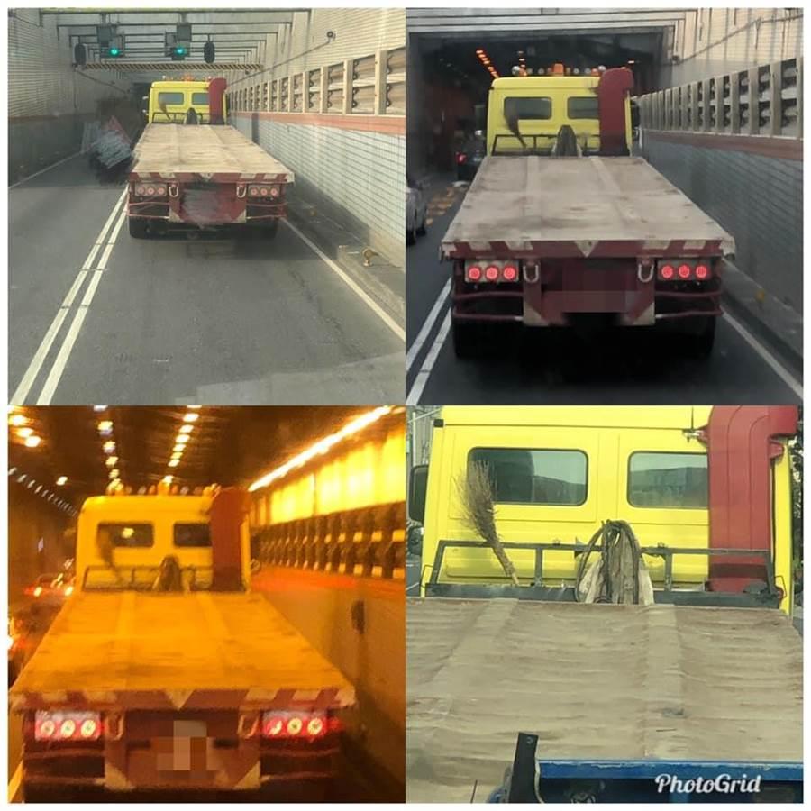 由於隧道昏暗,導致駕駛看錯,但因過港隧道經常發生車禍,也讓人不寒而慄(圖翻攝自/爆怨公社)
