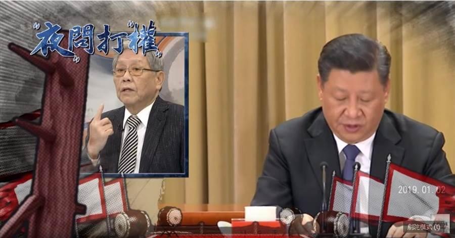 習近平強調「中國人不打中國人」  但對台獨不承諾放棄武力!