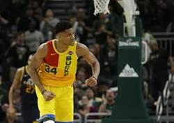 NBA》字母哥又回官方MVP榜首 哈登退居第2