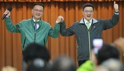 民進黨主席卓榮泰出席同黨台北市議員的新春感恩茶會