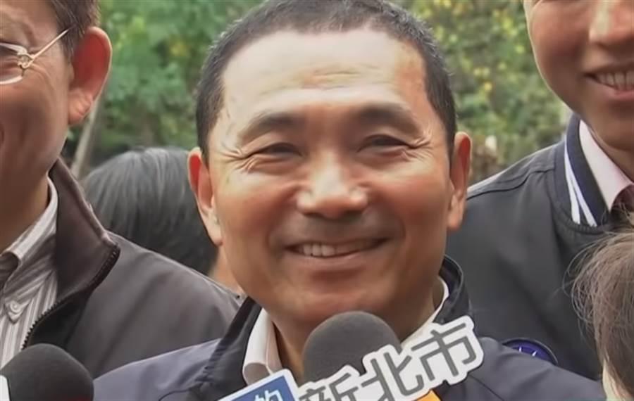 ▲新北市長侯友宜。(圖/取自中天新聞CH52)