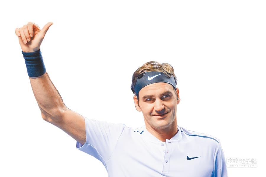 費德勒最近才在霍普曼男女團體賽奪冠,試圖尋求澳網3連霸。(法新社)