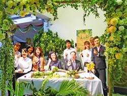 城市科大畢業展 選用可自然分解餐具款待貴賓