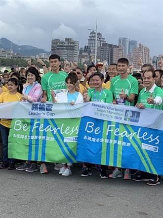 「2019渣打臺北公益馬拉松」3萬名跑者衝刺記錄