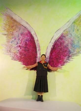 全球最大天使之翼落腳花蓮徐榛蔚化身幸福大天使
