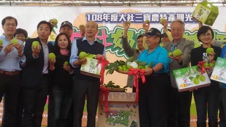 韓市長參加蜜棗評鑑活動 再次強調幫農民促銷農產