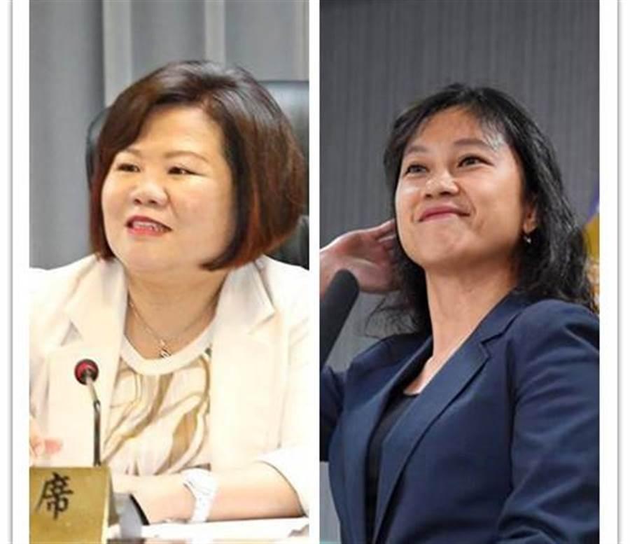 勞長許銘春(左)、發言人Kolas(右)確定留任。(資料照片合成)