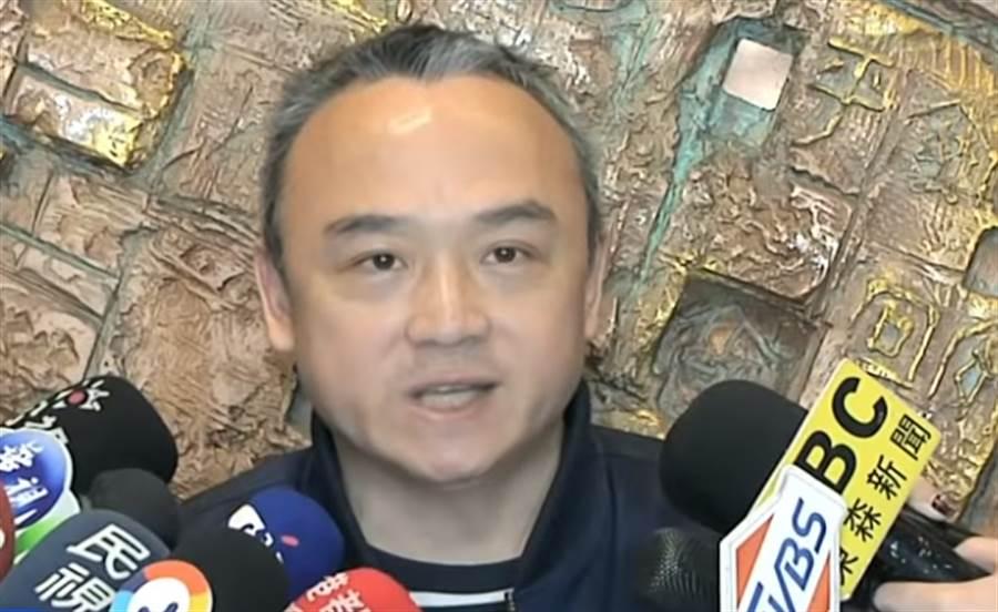 ▲高雄市觀光局長潘恒旭。(圖/取自中天新聞CH52)