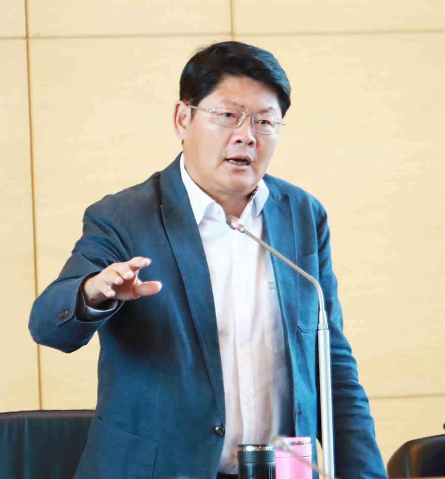 前台中市建設局長黃玉霖,獲得準交通部長林佳龍的推薦,將出任交通部政務次長。(陳世宗攝)