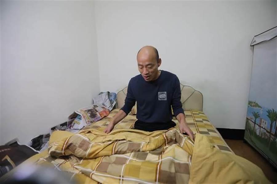 韩国瑜穿袜保阳气 中医:这些人不适合睡觉穿袜。(本报资料照)