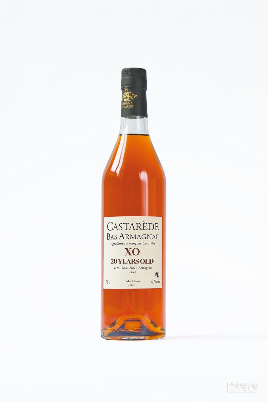 Castarede是非常古老的雅馬邑家族品牌,成熟圓潤是其最大特色,年輕的VSOP便已優秀,XO則含至少20年的陳酒,同時更以出色的年分酒聞名。圖片提供各品牌