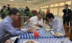 蘇貞昌吃政院自助餐 大方幫陳其邁付餐費