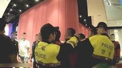 台中凌晨KTV前18人群毆 警出動快打部隊壓制