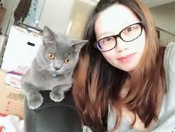 餵養流浪貓到愛貓如癡 護理師蕭雯憶自己有貓了