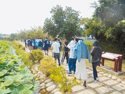親水休憩 淨水設施公園化