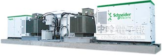 Conext SmartGen 電網級電力轉換系統 施耐德攻日光電