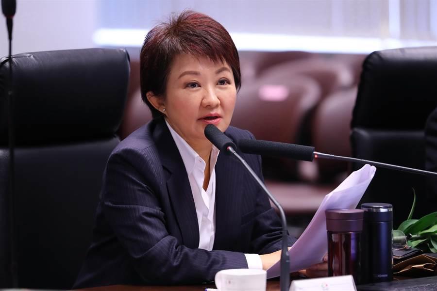 台中市長盧秀燕1年內將走訪各行政區舉行市政會議,將每一區都當成市中心。(盧金足攝)