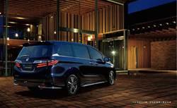 本田進口休旅車Odyssey新年式車款到港開賣