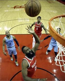 NBA》超越布萊恩 哈登神技創兩紀錄