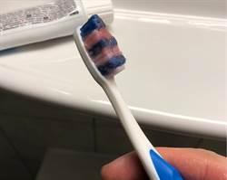 他用瑞士牙膏刷牙「嘴巴張不開」 真相網笑歪