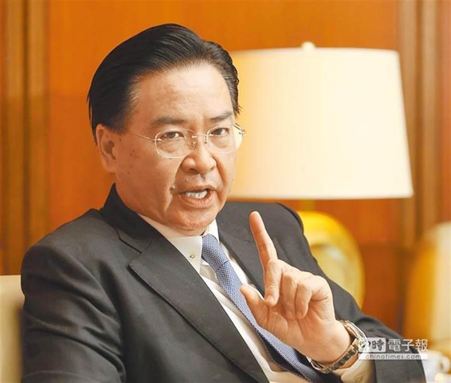 外交部長吳釗燮。(資料照,王英豪攝)