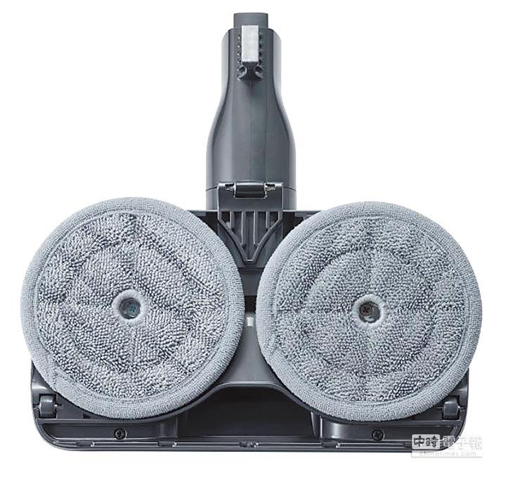 LG CordZero A9+快清式無線吸塵器溼拖款,3萬900元起,2月28日前購買指定型號送限量歐樂B電動牙刷及半年份的電動牙刷刷頭。(LG提供)