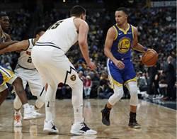 NBA》勇士客場暴打金塊 重奪西區龍頭寶座