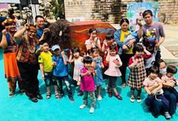 高雄金剛鸚鵡小學堂 邀請幼童體驗
