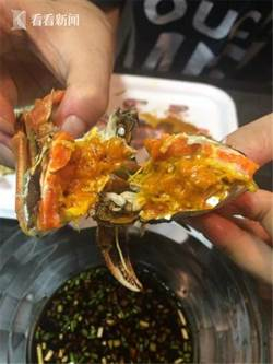 壓貨大閘蟹今年特別多 四兩半的蟹只賣三十多元