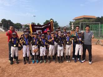在棒球沙漠默默耕耘 雲林文昌國小一周奪兩冠