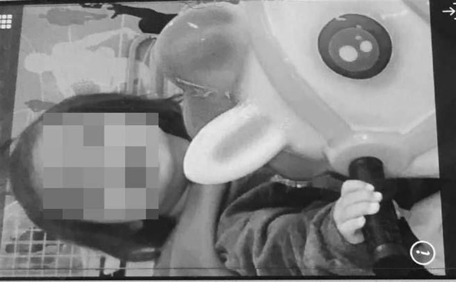 台南小媽媽疑虐死嬰。(當事人親友提供)