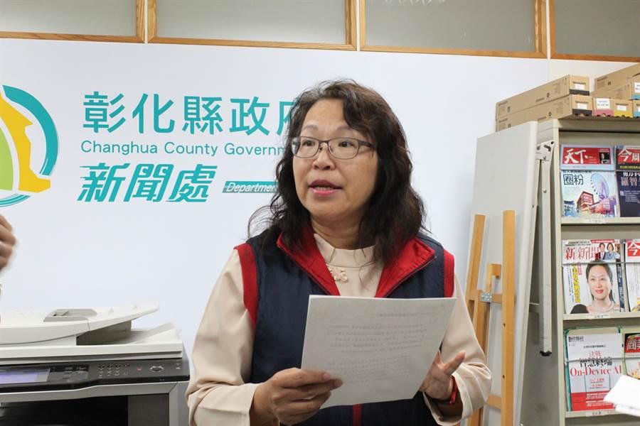 教育處長陳逸玲表示,接到教育度函釋後,恢復第一階段異動和留任共34位校長遴選公告。(吳敏菁攝)
