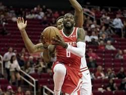 NBA》火箭再傷先發 這次理由有夠瞎