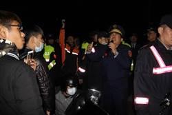 影》虐死女童法院凌晨裁定3嫌收押 民眾圍堵南檢未散
