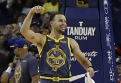 NBA》柯瑞再寫三分球紀錄 勇士逆轉勝鵜鶘