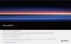 索尼XZ4超長螢幕新機 確認2/25 MWC報到