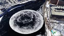 影》外星人登陸美?91公尺寬巨大冰盤引奇觀