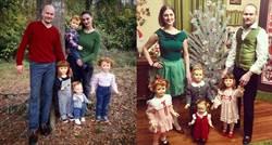 受不了「催生」轟炸 夫妻養娃娃曬家庭照回擊