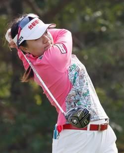 台灣女子高球公開賽首日 旅日球星蔡佩穎68桿領先