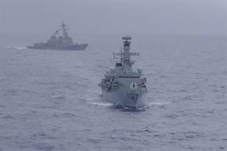 聯手對陸施壓 美英8年來首次南海聯合軍演