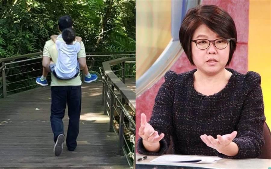 黃光芹如願當媽 養子生母面前她這舉動讓雙方無憾(圖/時報出版提供、本報資料照片)