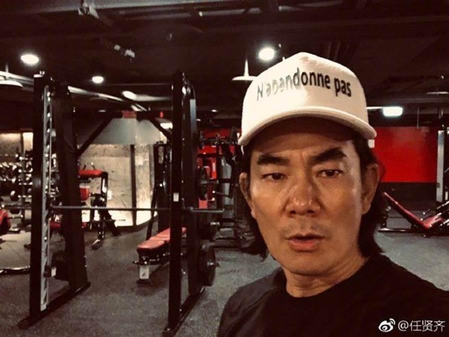 豆導性侵最大受災戶任賢齊,被問怎麼三個月瘦17公斤,他無奈回答。(圖/翻攝自微博)