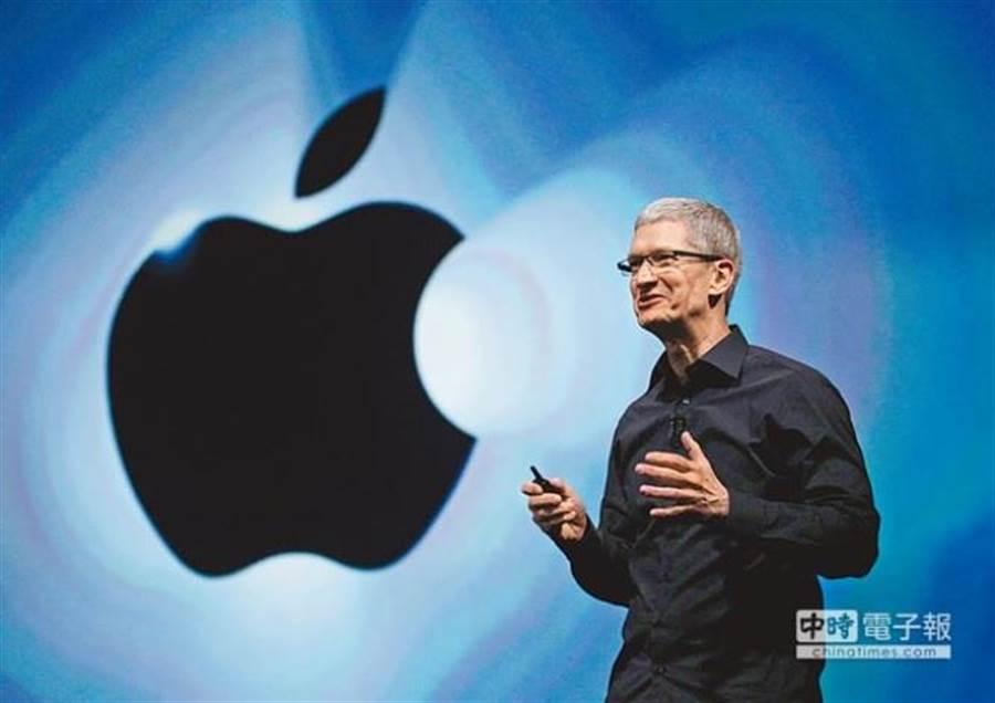 蘋果執行長庫克坦承公司遭遇瓶頸。(美聯社資料照片)